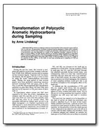 Transformation of Polycyclic Aromatic Hy... by Lindskog, Anne