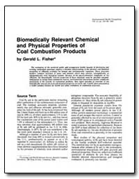Biomedically Relevant Chemical and Physi... by Fisher, Gerald L.