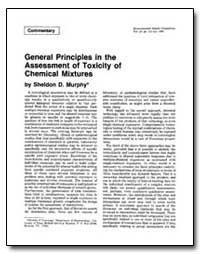 General Principles in the Assessment of ... by Murphy, Sheldon D.