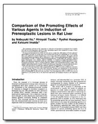 Comparison of the Promoting Effects of V... by Tsuda, Hiroyuki