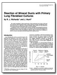 Reaction of Mineral Dusts with Primary L... by Richards, Roy J.