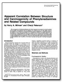 Apparent Correlation between Structure a... by Milman, Harry A.
