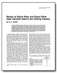 Review of Glycol Ether and Glycol Ether ... by Smith, R. L.