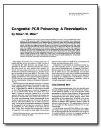 Congenital Pcb Poisoning : A Reevaluatio... by Miller, Robert W.
