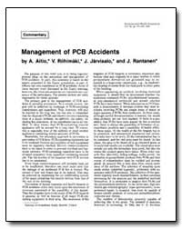 Management of Pcb Accidents by Riihimaki, V.
