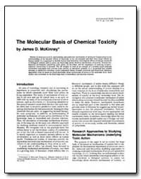 The Molecular Basis of Chemical Toxicity by Mckinney, James D.