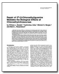 Repair of 06-(2-Chloroethyl)Guanine Medi... by Bodell, William J.
