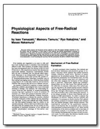 Physiological Aspects of Free-Radical Re... by Tamura, Mamoru