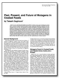 Past, Present, And Future of Mutagens in... by Sugimura, Takashi