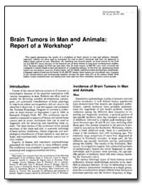Brain Tumors in Man and Animals : Report... by United Nations