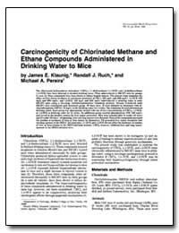 Carcinogenicity of Chlorinated Methane a... by Klaunig, James E.
