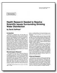 Health Research Needed to Resolve Scient... by Kleffman, David