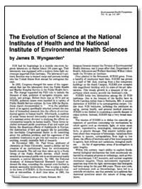 The Evolution of Science at the National... by Wyngaarden, James B.