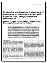 Biochemical and Molecular Epidemiology o... by Harris, Curtis C.