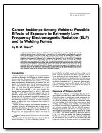 Cancer Incidence Among Welders : Possibl... by Stern, R. M.