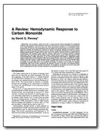 A Review : Hemodynamic Response to Carbo... by Penney, David G.