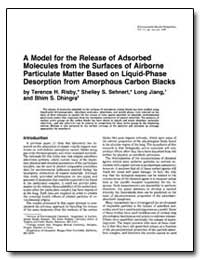 A Model for the Release of Adsorbed Mole... by Ris, Terence H.