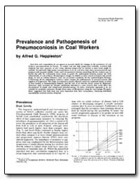 Prevalence and Pathogenesis of Pneumocon... by Heppleston, Alfred G.