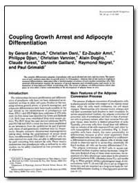 Coupling Growth Arrest and Adipocyte Dif... by Dani, Christian