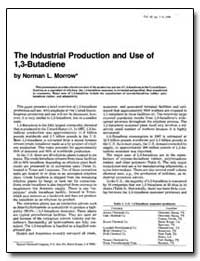 The Industrial Production and Use of 1,3... by Morrow, Norman L.