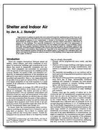 Shelter and Indoor Air by Stolwijk, Jan A. J.