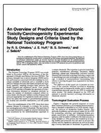 An Overview of Prechronic and Chronic To... by Chhabra, Rajendra S.