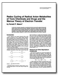 Redox Cycling of Radical Anion Metabolit... by Mason, Ronald P.