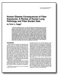 Human Disease Consequences of Fiber Expo... by Roggli, Victor L.