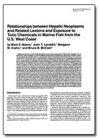 Relationships between Hepatic Neoplasms ... by Myers, Mark S.