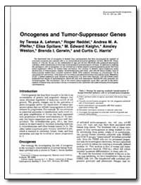 Oncogenes and Tumor-Suppressor Genes by Lehman, Teresa A.