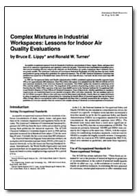 Complex Mixtures in Industrial Workspace... by Turner, Ronald W.