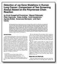 Detection of Ras Gene Mutations in Human... by Ridanpaa, Maaret