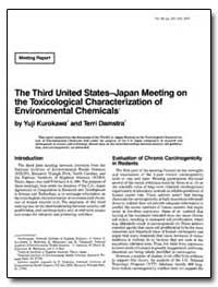 The Third United States-Japan Meeting on... by Kurokawa, Yuji