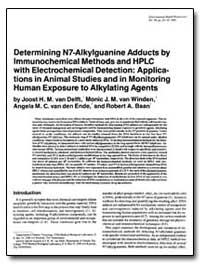 Determining N7-Alkylguanine Adducts by I... by Baan, Robert A.