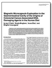 Magnetic Microcapsule Exploration in the... by Oneill, Ian