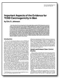 Important Aspects of the Evidence for Tc... by Johnson, Eric S.