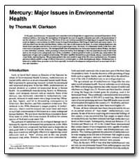 Mercury : Major Issues in Environmental ... by Clarkson, Thomas W.