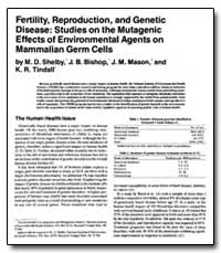 Fertility, Reproduction, And Genetic Dis... by Shel, Michael D., Ph. D.