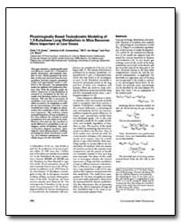 Physiologically Based Toxicokinetic Mode... by Evelo, Chris T. A.