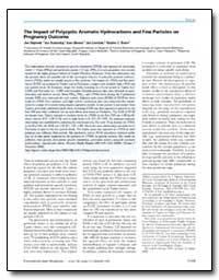 The Impact of Polycyclic Aromatic Hydroc... by Dejmek, Jan