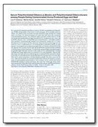 Serum Polychlorinated Dibenzo-P-Dioxins ... by Goldman, Lynn R.