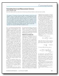 Calculating Bone-Lead Measurement Varian... by Todd, Andrew Christian