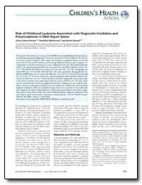 Risk of Childhood Leukemia Associated wi... by Sinnett, Daniel