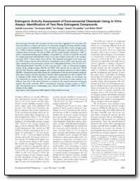 Estrogenic Activity Assessment of Enviro... by Tarradellas, Joseph