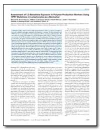 Assessment of 1, 3 : Butadiene Exposure ... by Ammenheuser, Marinel M.