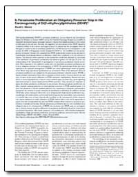 Is Peroxisome Proliferation an Obligator... by Melnick, Ronald L.