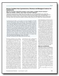 Human Fatalities from Cyanobacteria : Ch... by Carmichael, Wayne W.