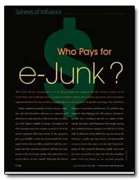 Who Pays for E-Junk by Dahl, Richard
