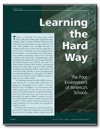 The Poor Environment of Americas Schools by Wakefield, Julie