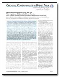 Chemical Contaminants in Breast Milk and... by Landrigan, Philip J.
